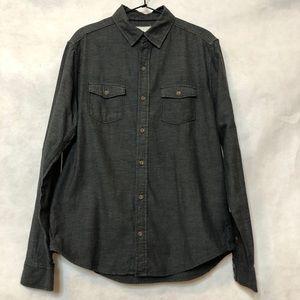Aeropostale Long Sleeved Button Down Shirt Sz M